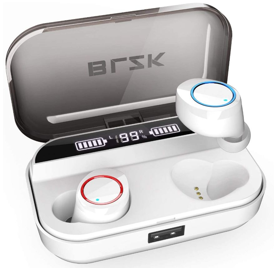 This image has an empty alt attribute; its file name is BLZK-Earbuds-BLZK-Bluetooth-Earbuds-blzkearbuds.com-Wireless-Earbuds-2020-5.0-Auto-Pairing-Headset-Built-in-HD-Noise-Reduction-Mic-3D-Stereo-Sound-IPX7-Waterproof_ys.jpg
